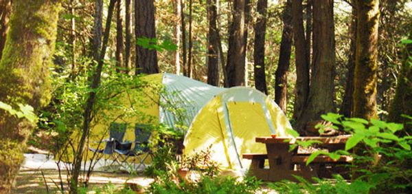 Gulf Islands National Park Reserve - McDonald Campground