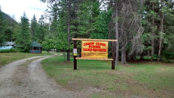 Lemon Creek Pioneer Campground