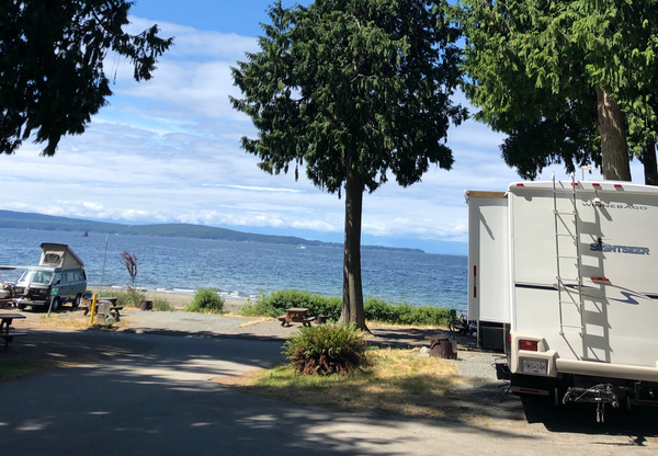 Willingdon Beach Municipal Campsite
